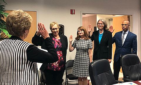 Board of directors swearing in ceremony