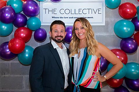 Guests at The Collective event at Coppertail